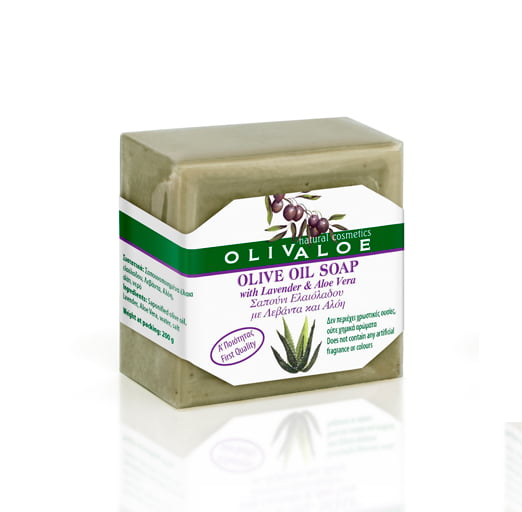 Olivaloe mydło Olive Oil z lawendą i aloesem 200g