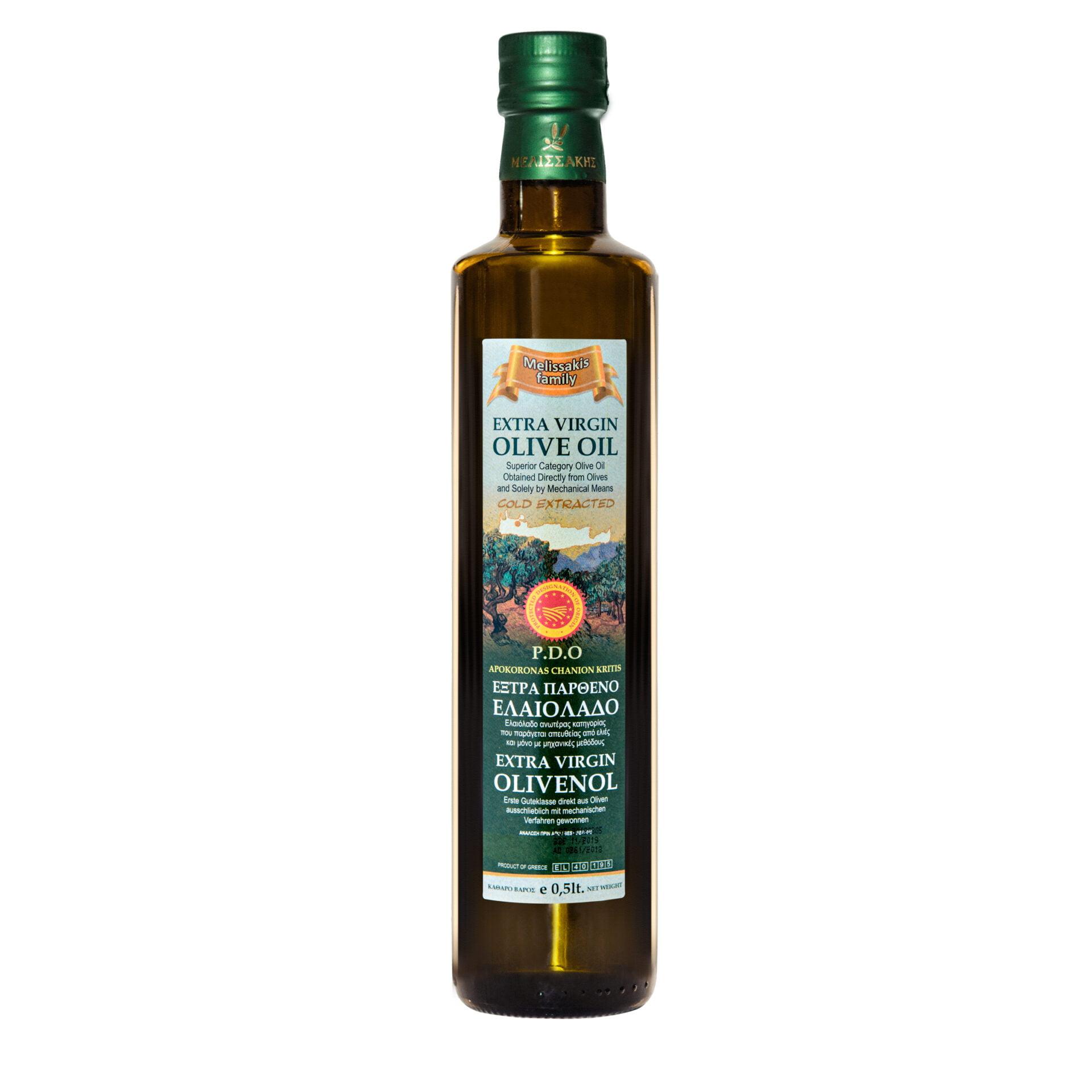 Melissakis oliwa z oliwek extra vergin 0,5L