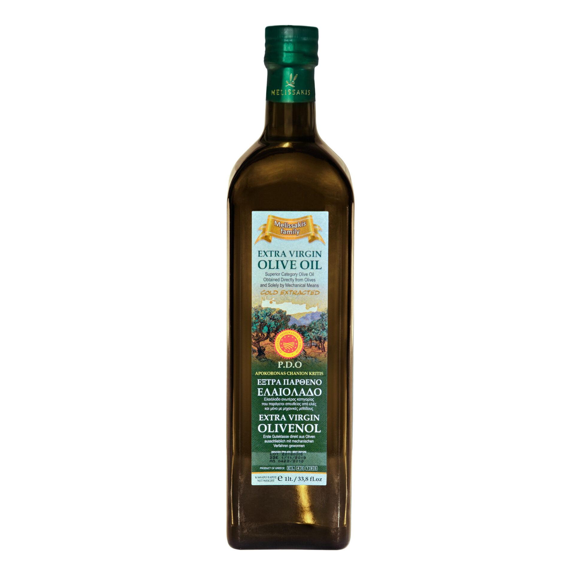 Melissakis oliwa z oliwek extra vergin 1L