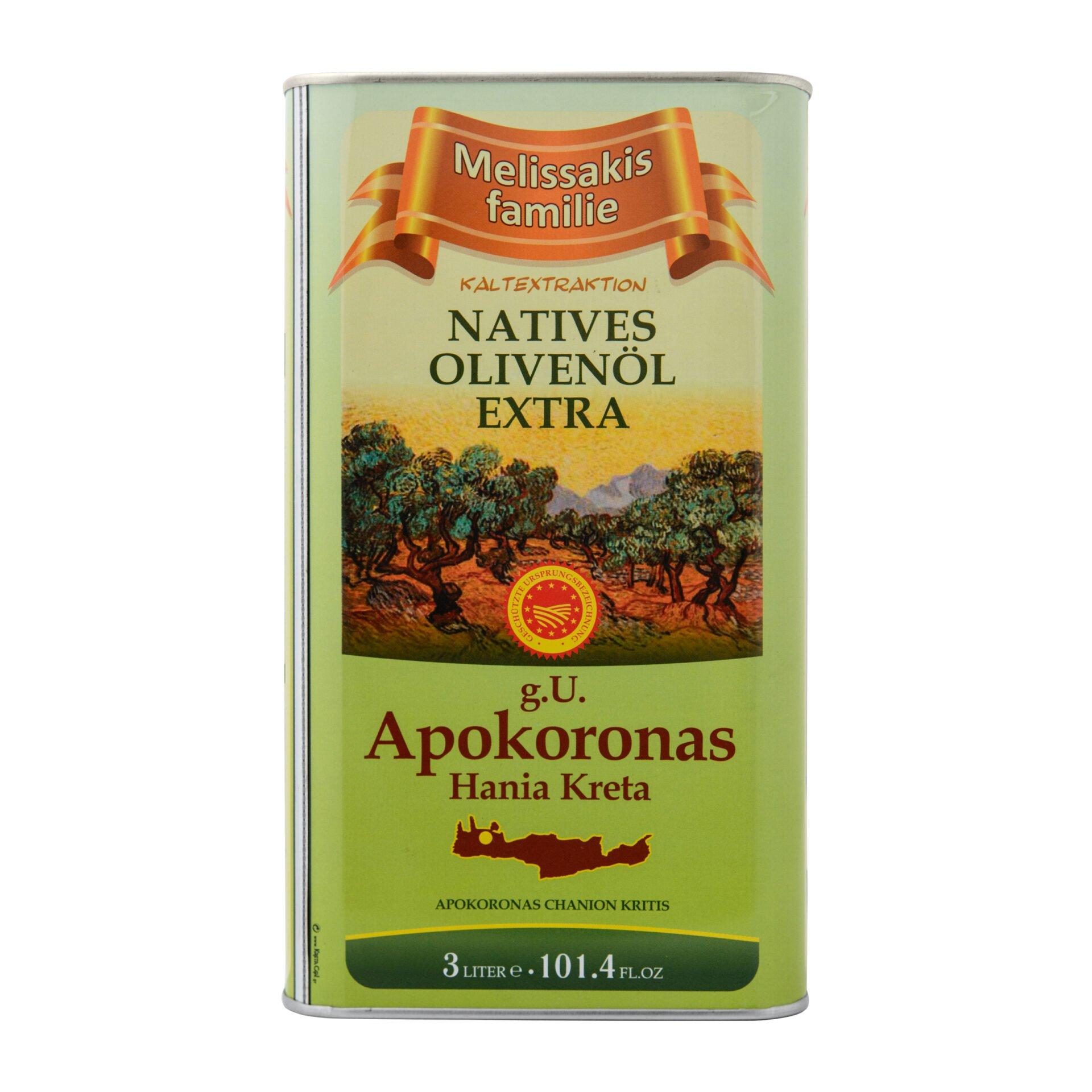 Melissakis oliwa z oliwek extra vergin 3L