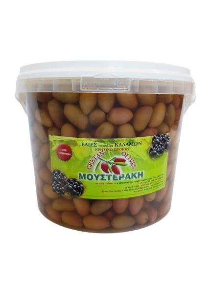 Mousteraki oliwki zielone z pestką 2,5kg