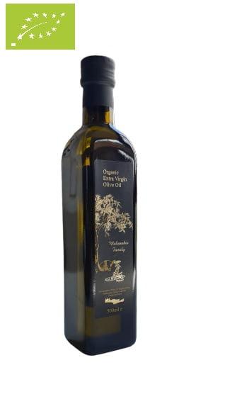 Melissakis Organic oliwa z oliwek extra vergin 0,5L