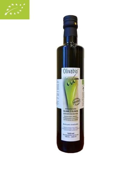 Olivabio oliwa z oliwek ekologiczna 0,5L